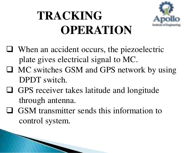 accident spot identification using gsm Gsm based automatic vehicle accident detection with gps based location identification and messaging system using arm7(embedded systems)-major  accident spot at.