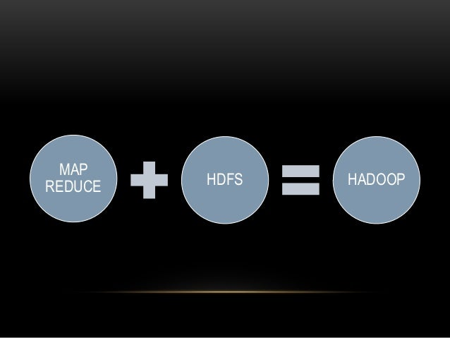 MAP REDUCE HDFS HADOOP