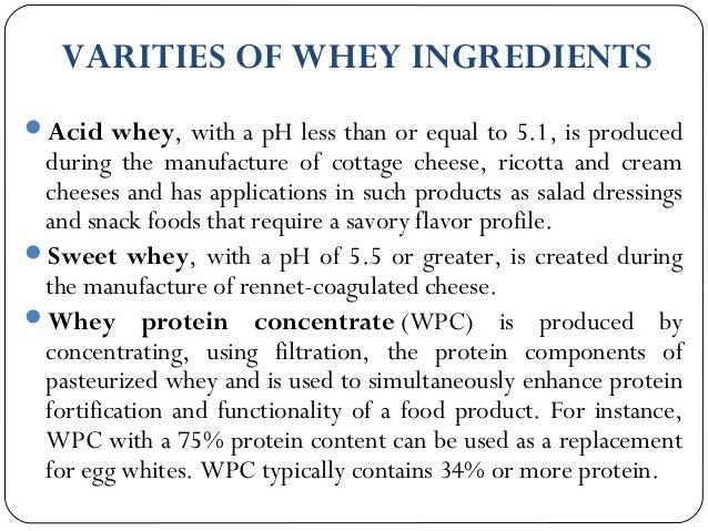 Whey Protein Seminar