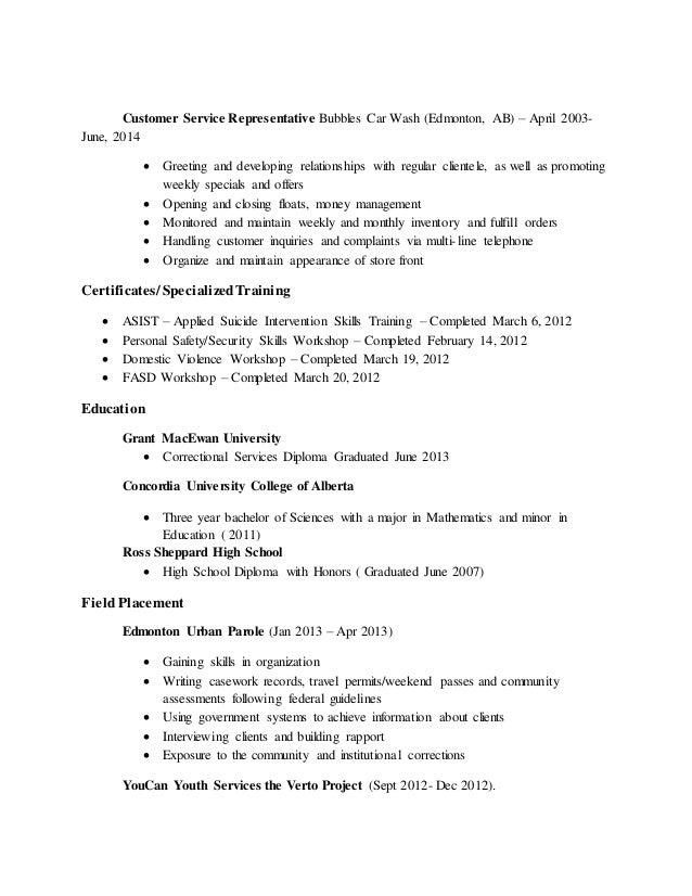 sandra abercrombie resume