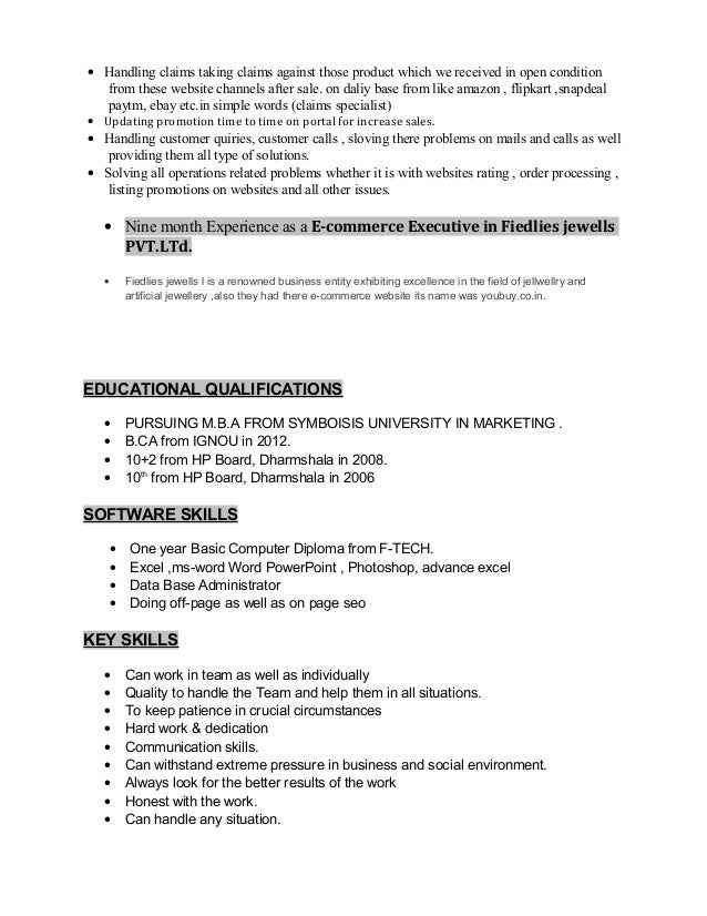 Updating Resume And Cover Letter For Promotion