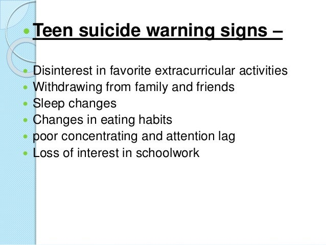 the factors that drive teenagers to commit suicides Teenage suicide occurs due to a variety of factors the numbers remain fairly consistent and schools have attempted to roll out a number of schemes to tackle the problem.