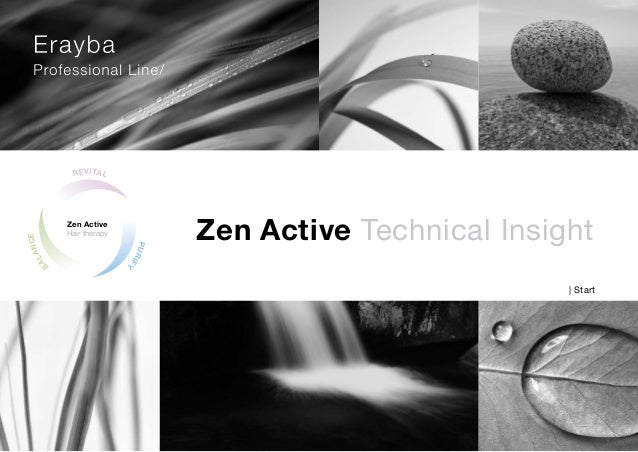 BALANCE REVITAL PURIFY Zen Active Hair therapy Zen Active Technical Insight | Start