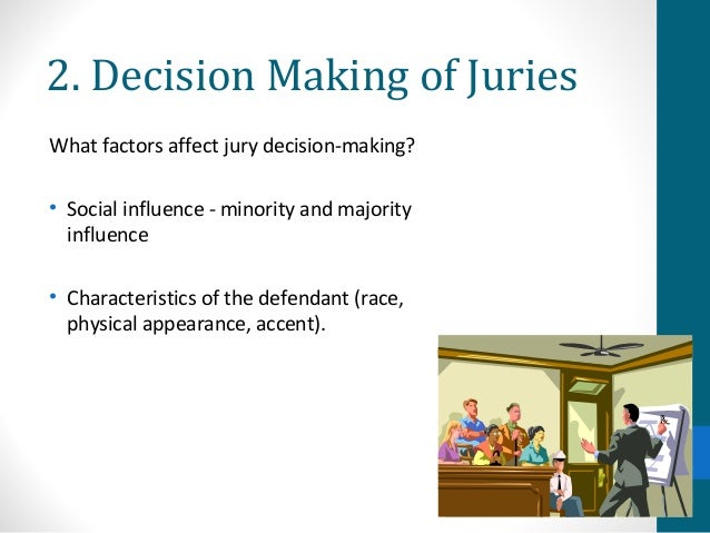 "how do eye witness testimonials affect jury decision making How do eye witness testimonials affect jury decision making ""trifles"" and ""a jury of her peers"" susan glaspell essay sample deconstruction of trailer – fight club essay."