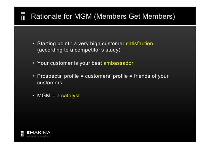 "Emakina Academy #11 : ""members get members"" campaign for Keytrade Bank Slide 3"