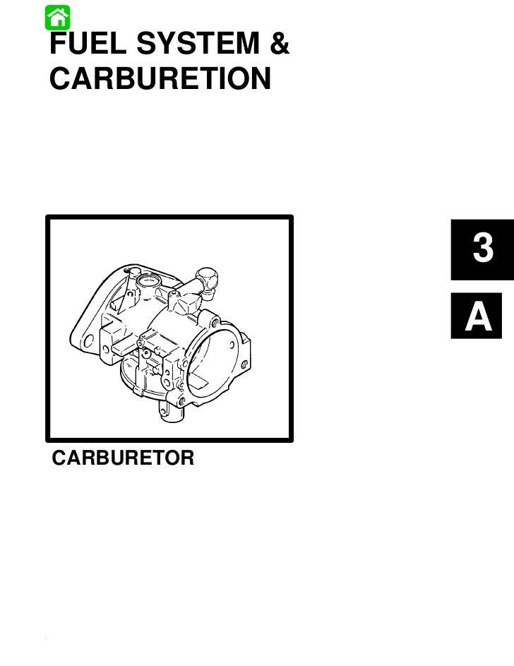 FUEL SYSTEM &CARBURETION                                                      3                                           ...