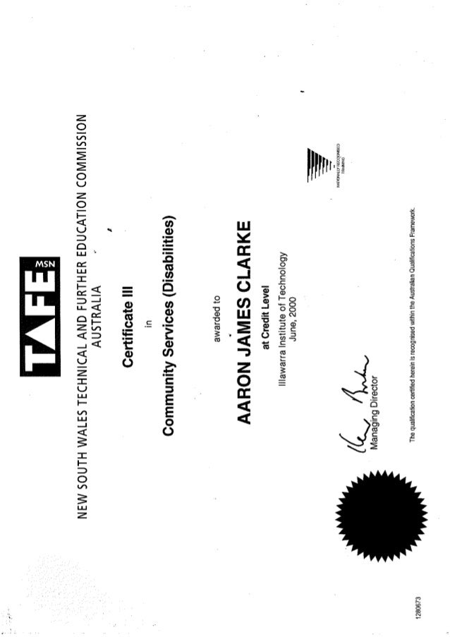 tafe transcripts