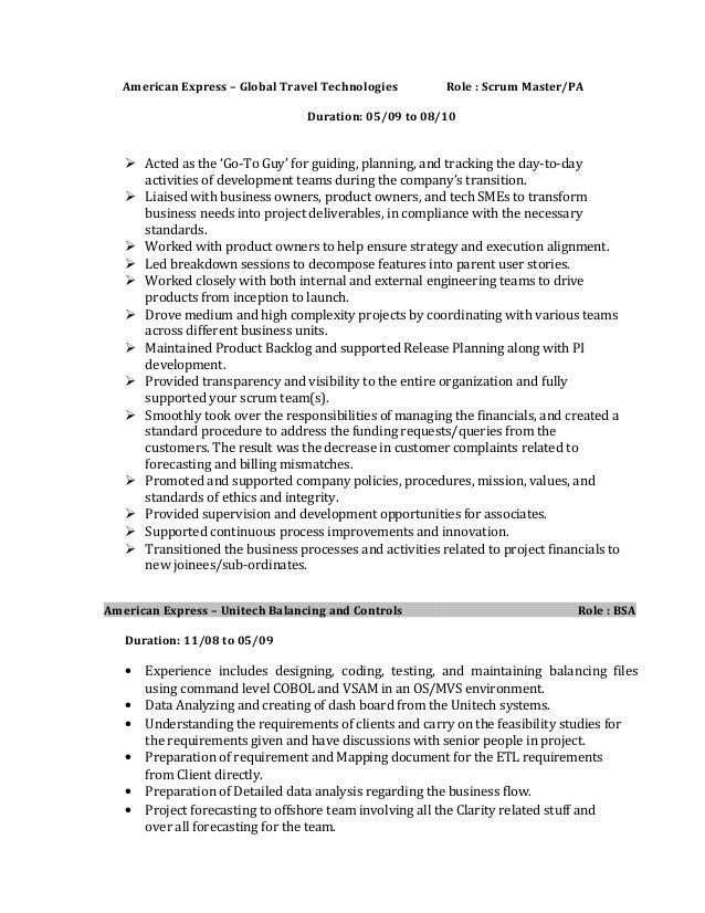 pratheep rajasekaran resume scrummaster