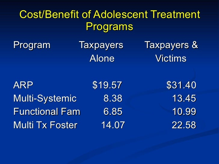 treatment programs for adolescent sex offenders in Eugene