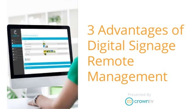 how to use teamviewer change digital signage