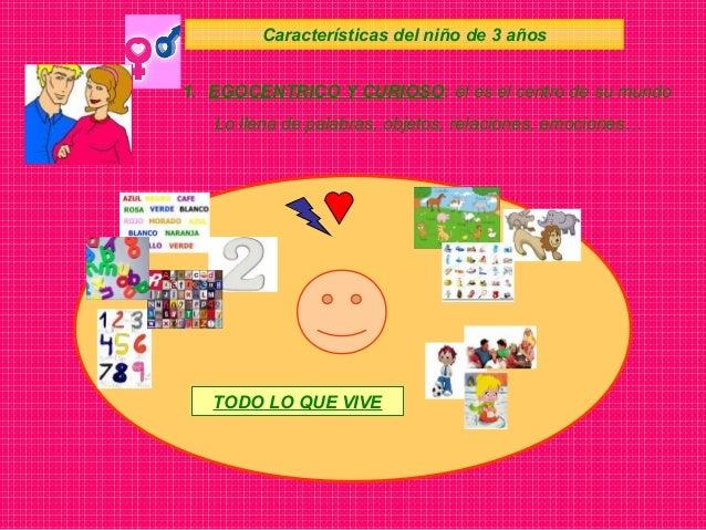 Características del niño de 3 años Atención Socialización 2. POSEE UNAS CAPACIDADES pero… las tiene que desarrollar… Memor...