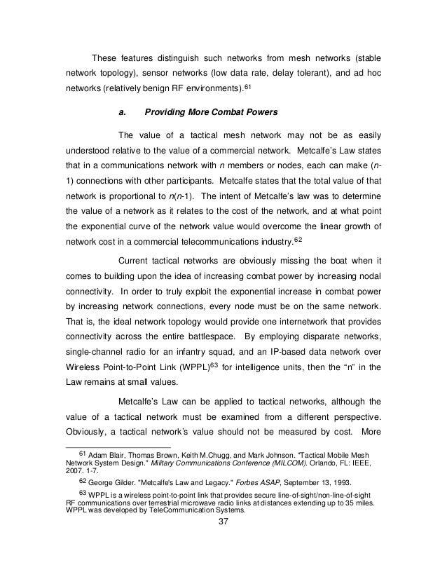 Delay tolerant network thesis