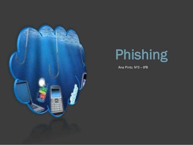 Phishing Ana Pinto, Nº3 – 8ºB