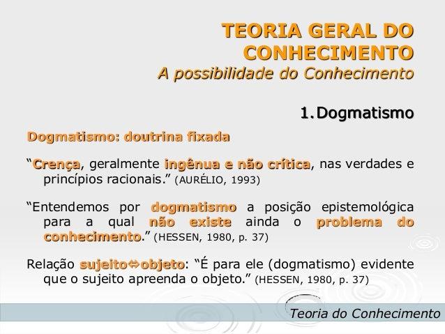 3 ano dogmatismo e relativismo (pmii) Slide 2