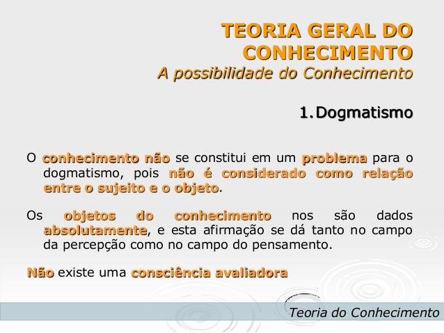 3 ano dogmatismo e relativismo (pmii) Slide 3