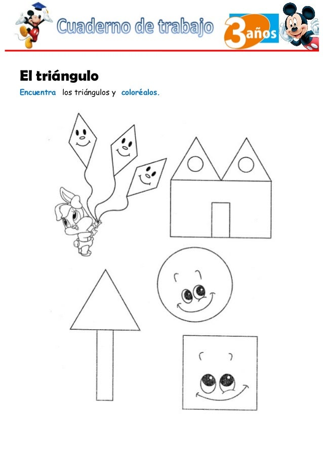 Cuaderno de Trabajo II - 3 Años Matematicas
