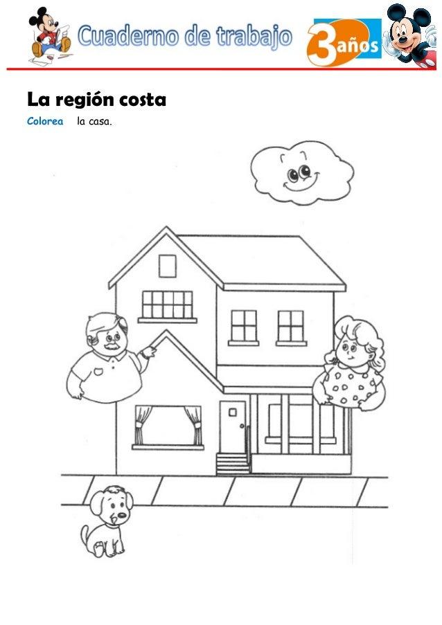 Moderno Casa Para Colorear Hojas Viñeta - Dibujos Para Colorear En ...