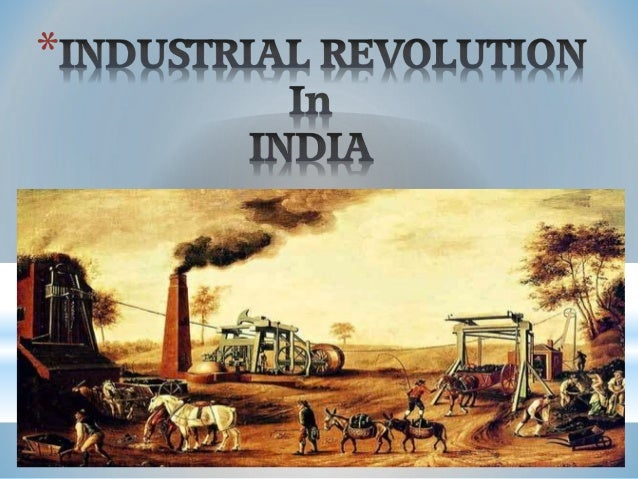 industrialization in india
