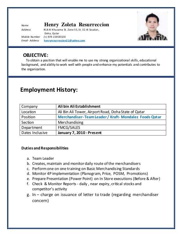 CV HENRY NEW UPDATED 18JAN2015