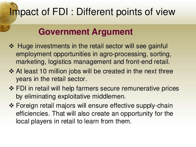 impact of fdi to farmers in Nzier have used a cost benefit framework to illustrate the impact of new fdi  investment  few fdi restrictions, those selling farms and other assets will not be .