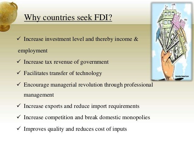 disadvantages of fdi in usa The home country effects of fdi in developed economies ari kokko  and both china and the us attract thousands of fdi projects every year after a turbulent period .