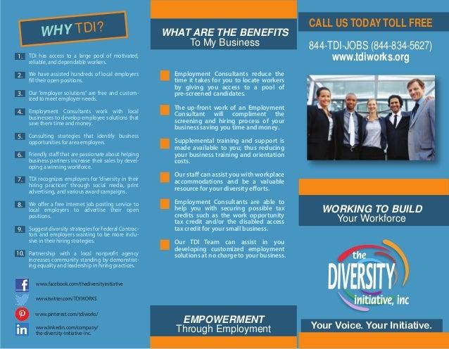 employment brochure