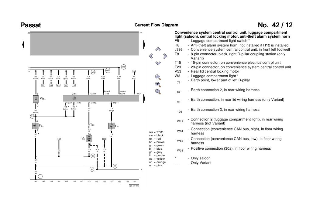 passat b5 3b6 convenience wiring diagram 12 728?cb=1271350571 passat b5 3b6 convenience wiring diagram vw t5 central locking wiring diagram at reclaimingppi.co