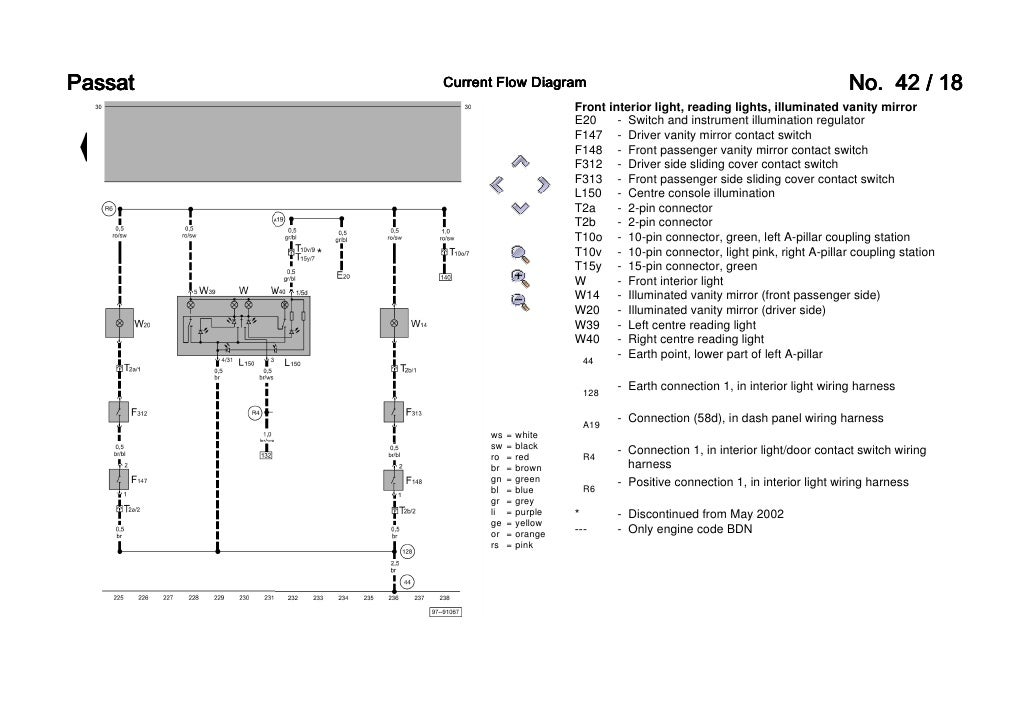 passat b5 3b6 convenience wiring diagram rh slideshare net 2002 passat ccm wiring diagram 2002 passat stereo wiring diagram