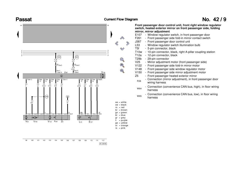 2004 Vw Volkswagen Caddy Outside Light Control Wiring Diagram - Wire ...