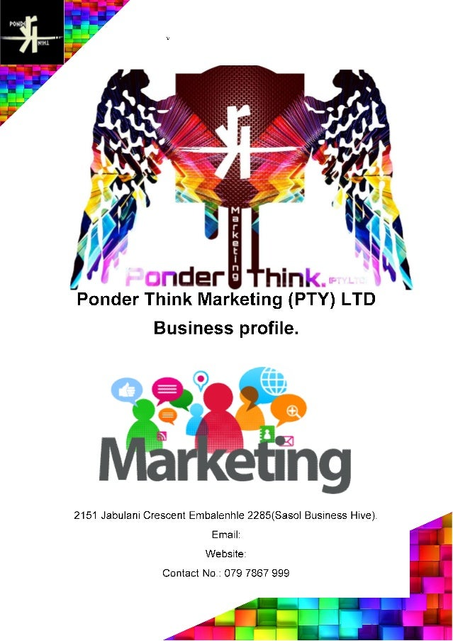 Ponder Think's company profile.
