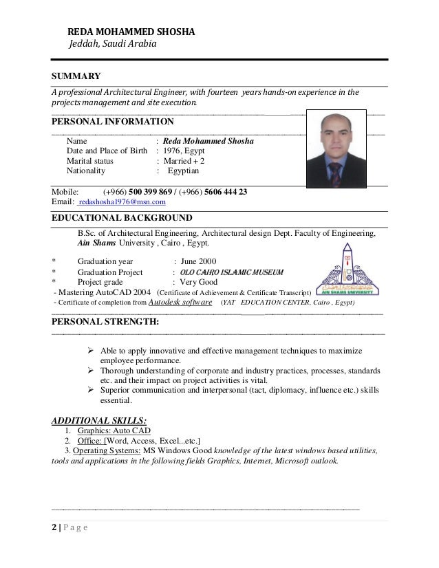 Attractive Architecture Engineering Resume Collection - Best Resume ...