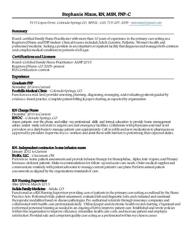 Nurse Practitioner Resume Samples VisualCV Resume Samples Database How To  Become A Nurse Practitioner Using Online  Sample Nurse Practitioner Resume