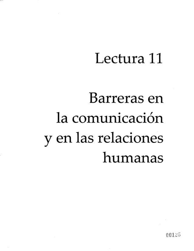 Lectura 11 Barreras en la comunicación y en las relaciones humanas 001^5