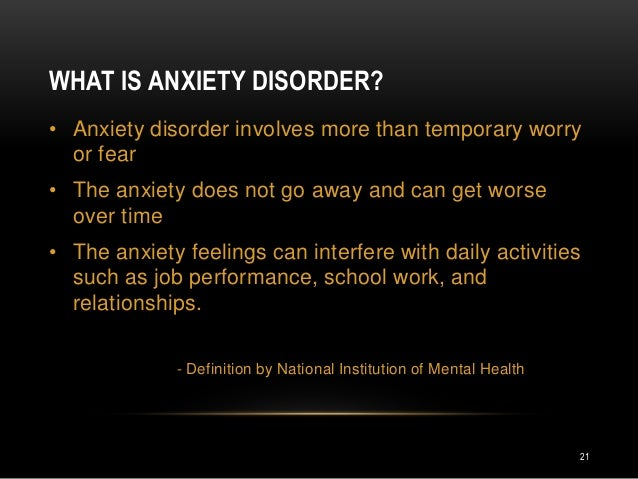 Well what its like dating someone with anxiety intolerable