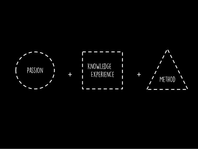 Passion and experience