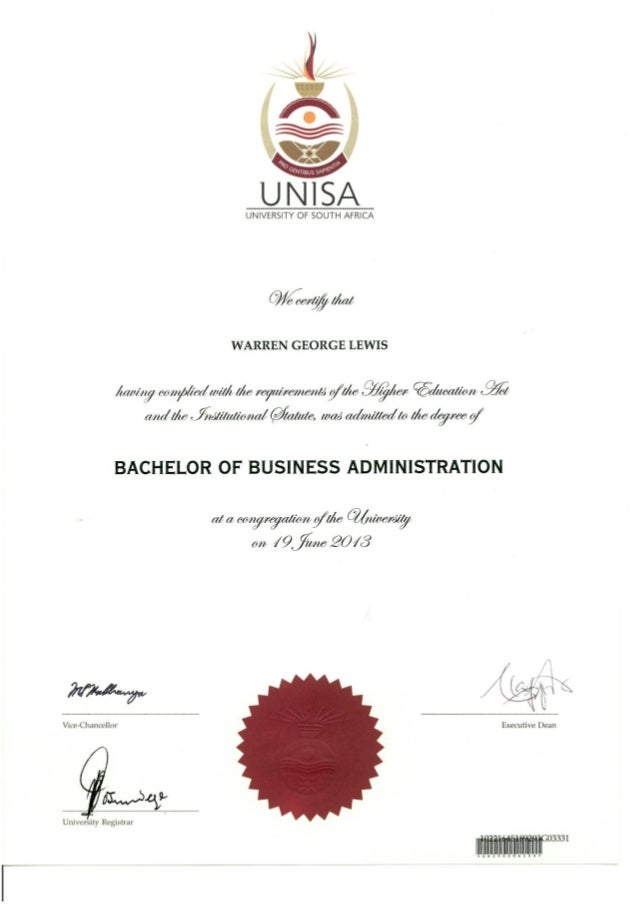 BBA Business Certificates | Wisconsin School of Business ...
