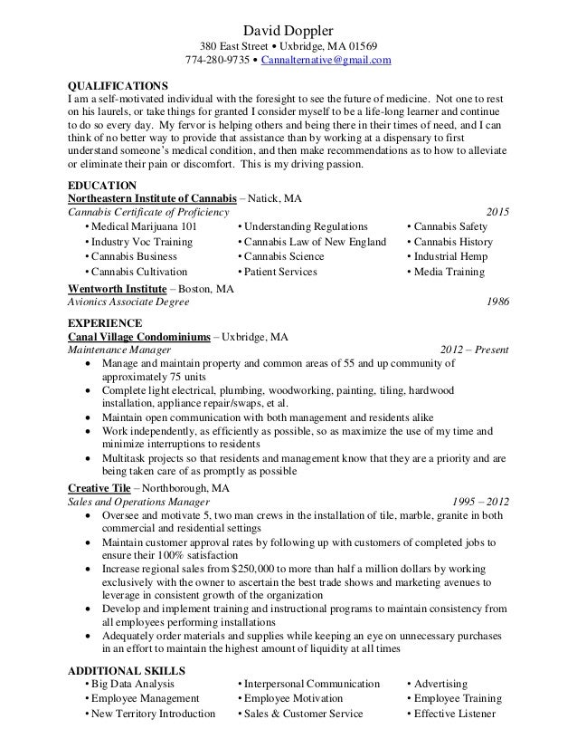 david doppler resume