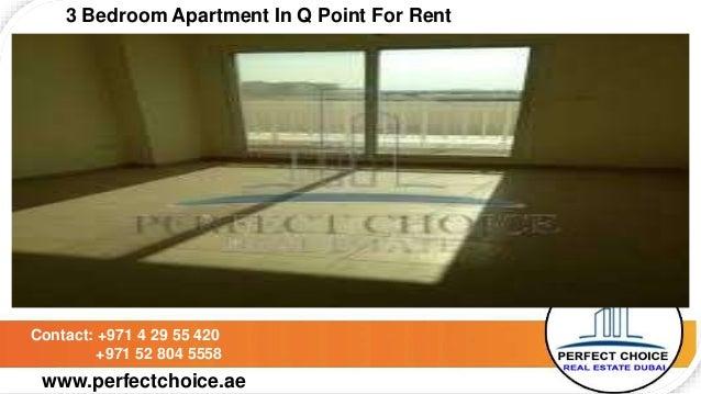 3 bedroom apartment in q point for rent dubai - Dubai 3 bedroom apartments for rent ...