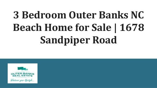 3 Bedroom Outer Banks NC Beach Home for Sale | 1678 Sandpiper Road