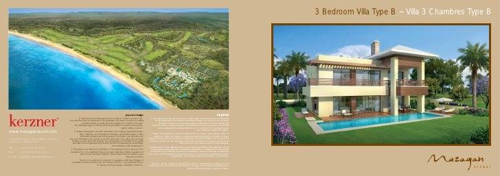 3 Bedroom Villa Type B ~ Villa 3 Chambres Type B                                                                          ...