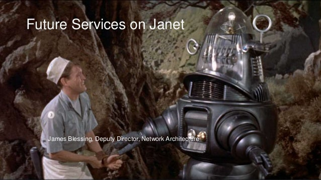 James Blessing, Deputy Director, Network Architecture Future Services on Janet
