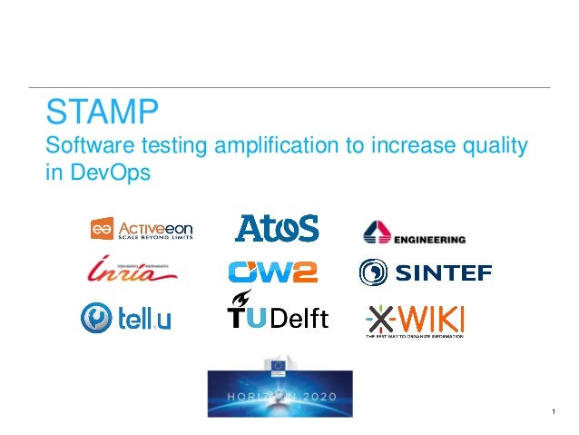 STAMP Software testing amplification to increase quality in DevOps 1