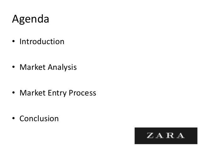 zara conclusion Zara.
