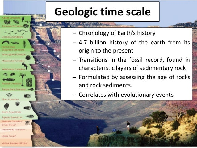 the scope and scale of geologic history Geological history elegant refinements of the geological time scale occur by combining the 3 and as each of these polarity events is worldwide in scope.
