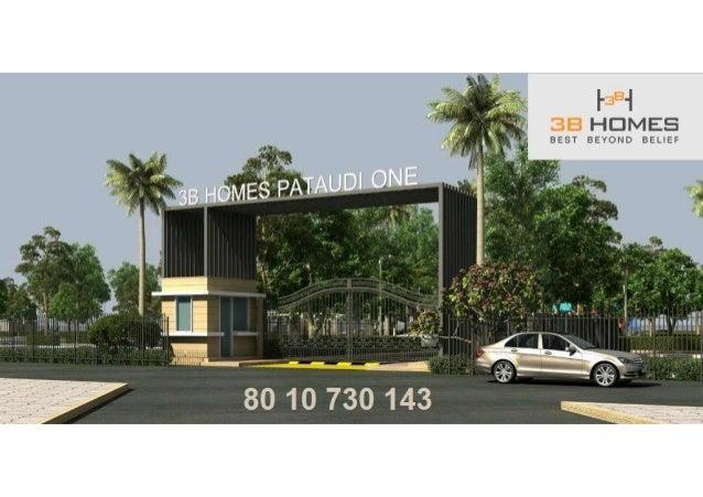 3b homes pataudi one deen dayal jan awas affordable plots 8010730143