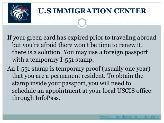 3 Big Problems With An Expired Green Card
