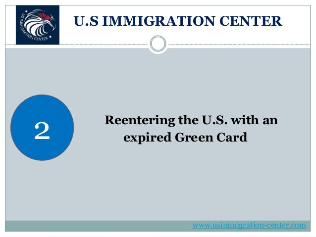 how to travel with expired green card