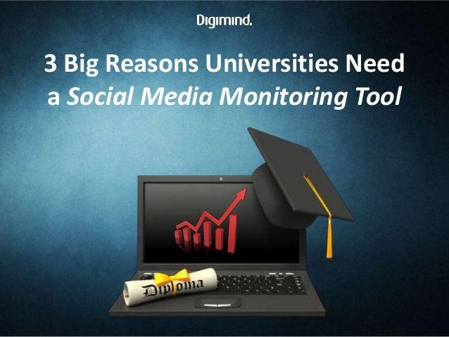 3 Big Reasons Universities Need a Social Media Monitoring Tool