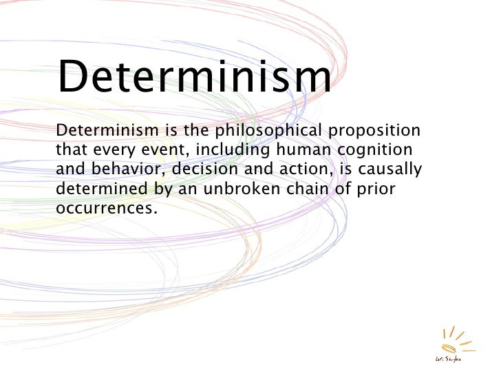an introduction to the philosophy of determinism