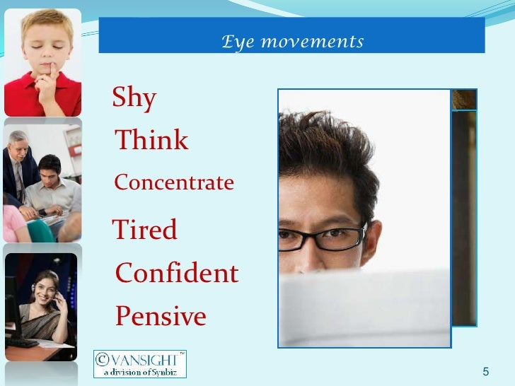 how to read body language and eye movement